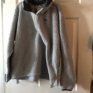 Womens quarter zip sherpa jacket